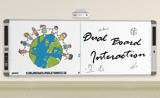 interactive whiteboard with all in one PC